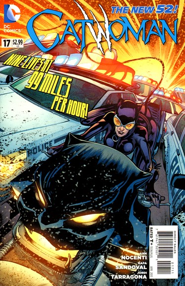 Catwoman Cover - 4/1/2013