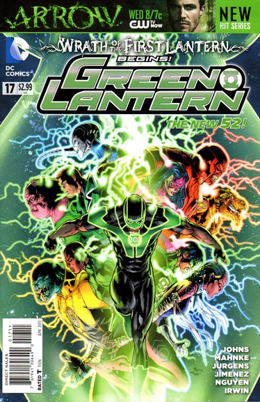 Green Lanterns Cover - 4/1/2013