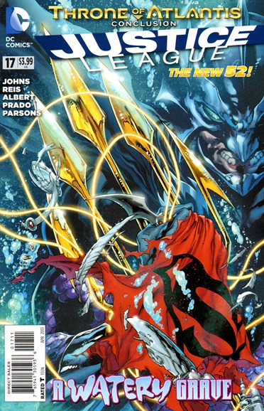 Justice League Cover - 4/1/2013
