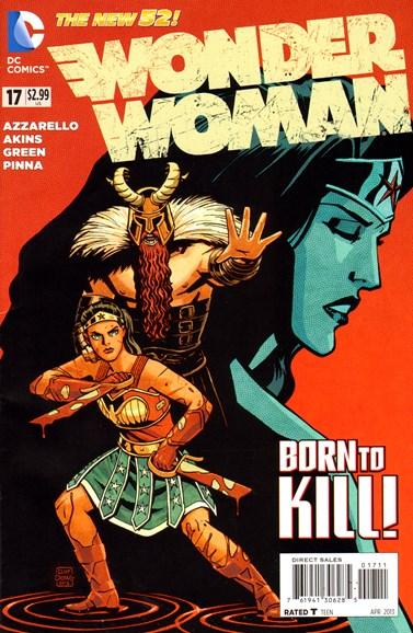 Wonder Woman Cover - 4/1/2013