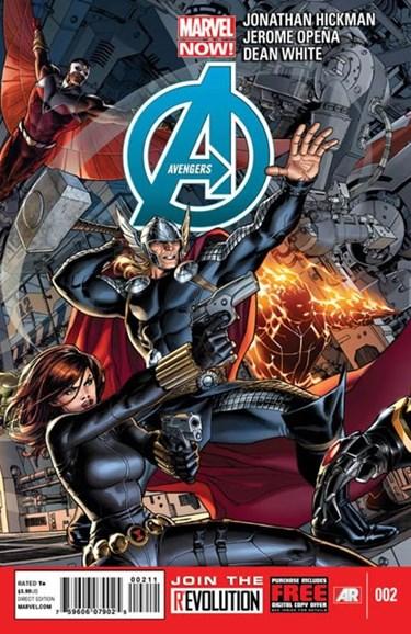 Avengers Cover - 2/15/2013