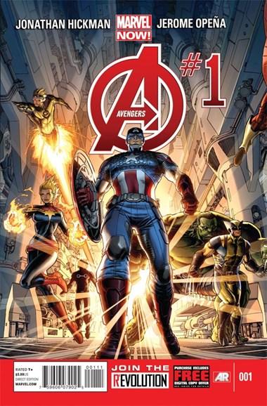 Avengers Cover - 2/1/2013
