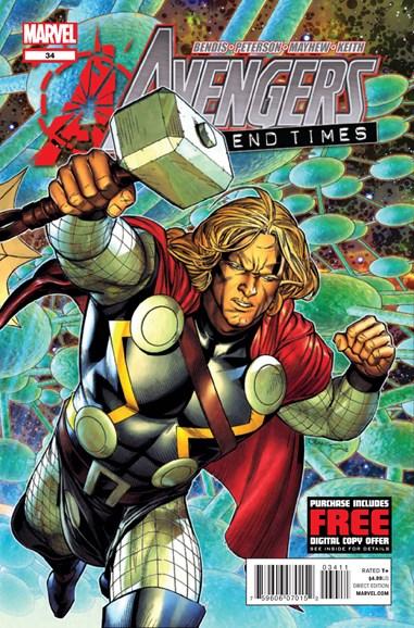 Avengers Cover - 1/15/2013