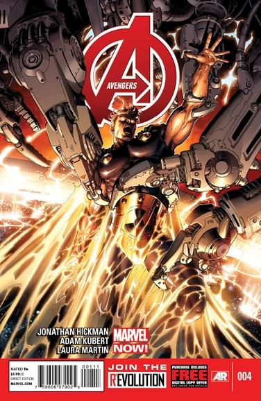 Avengers Cover - 3/15/2013
