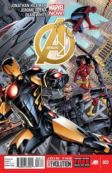 Avengers Cover - 3/1/2013