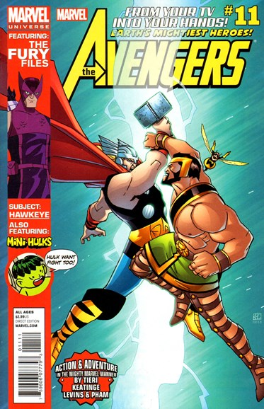 Marvel Universe Avengers Earth's Mightiest Heroes Cover - 4/1/2013