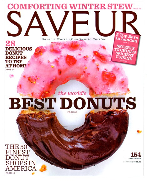 Saveur Cover - 3/1/2013