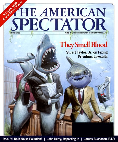 The American Spectator Cover - 3/1/2013