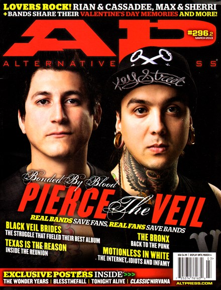 Alternative Press Cover - 3/1/2013