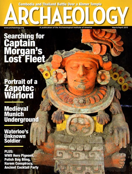 Archaeology Cover - 3/1/2013