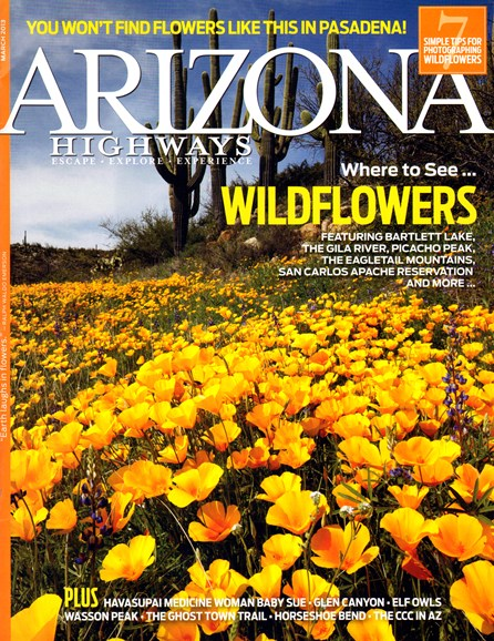 Arizona Highways Cover - 3/1/2013