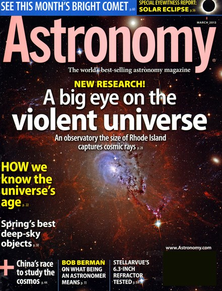 Astronomy Cover - 3/1/2013