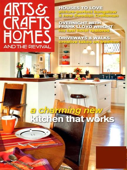 Arts & Crafts Homes Cover - 3/1/2013