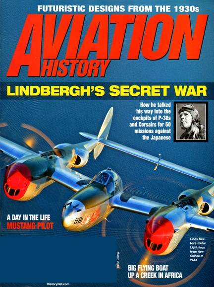 Aviation History Cover - 3/1/2013