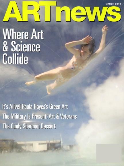 ARTnews Cover - 3/1/2013