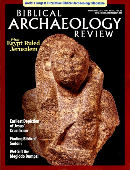 Biblical Archaeology Review Cover - 3/1/2013