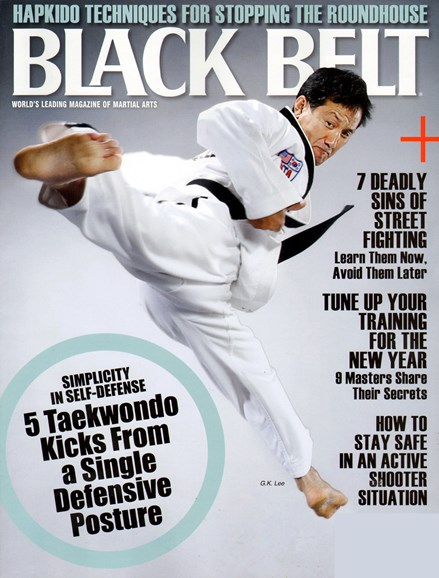 Black Belt Magazine Cover - 3/1/2013