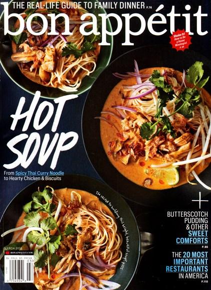 Bon Appétit Cover - 3/1/2013