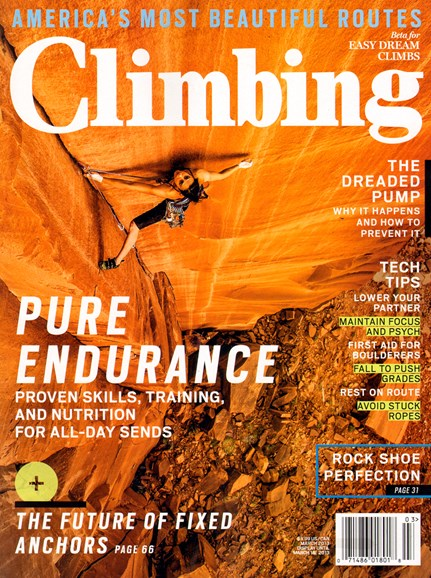 Climbing Magazine Cover - 3/1/2013