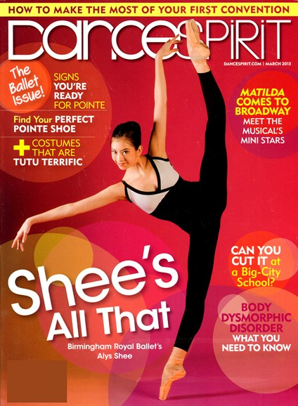 Dance Spirit Cover - 3/1/2013