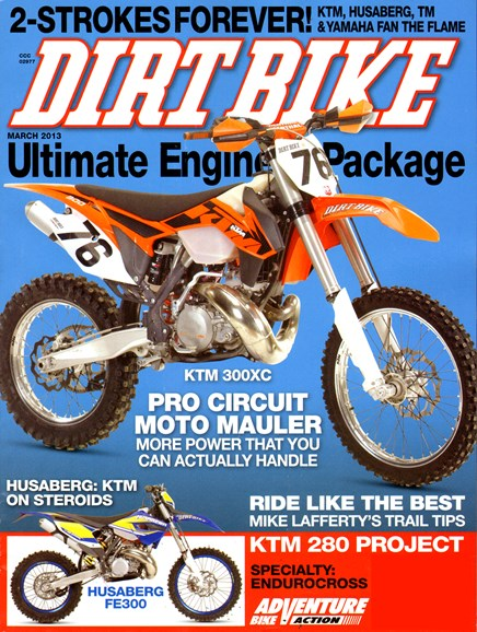 Dirt Bike Cover - 3/1/2013