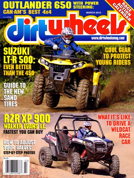Dirt Wheels Cover - 3/1/2013