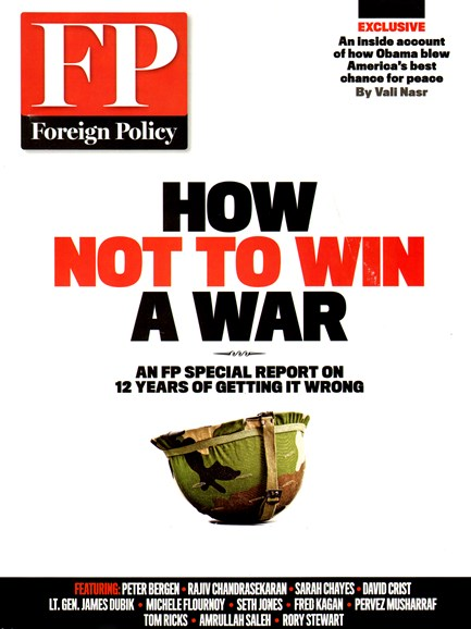 Foreign Policy Cover - 3/1/2013