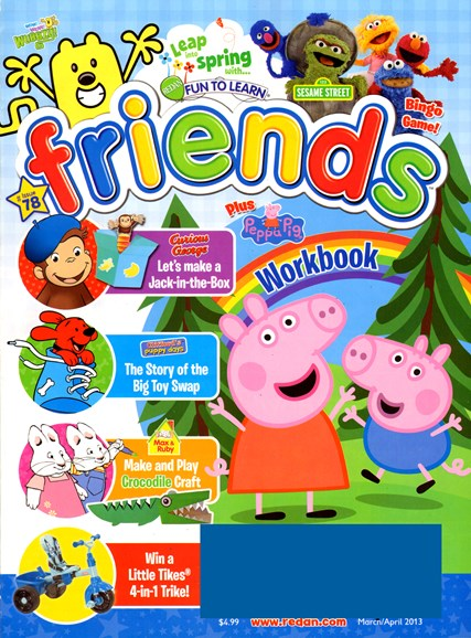 Preschool Friends Cover - 3/1/2013