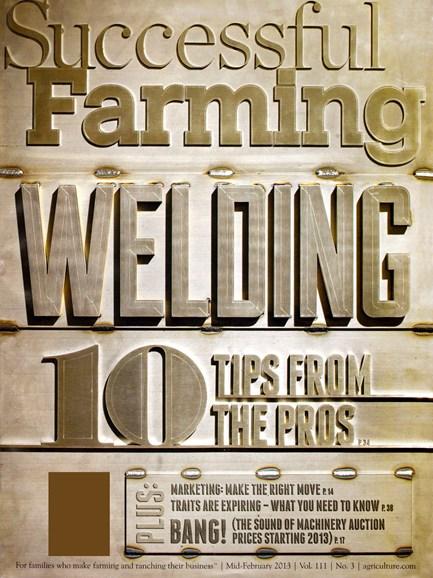 Successful Farming Cover - 2/15/2013