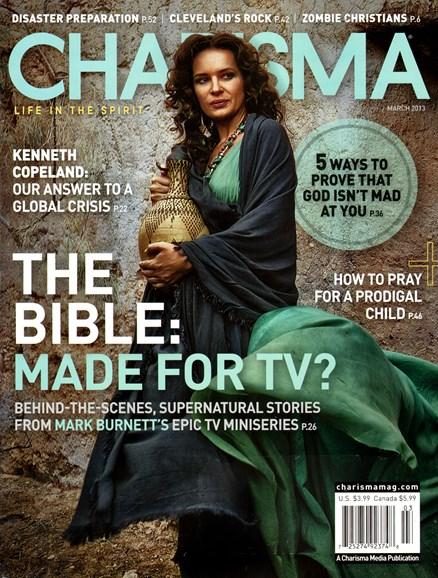 Charisma Cover - 3/1/2013