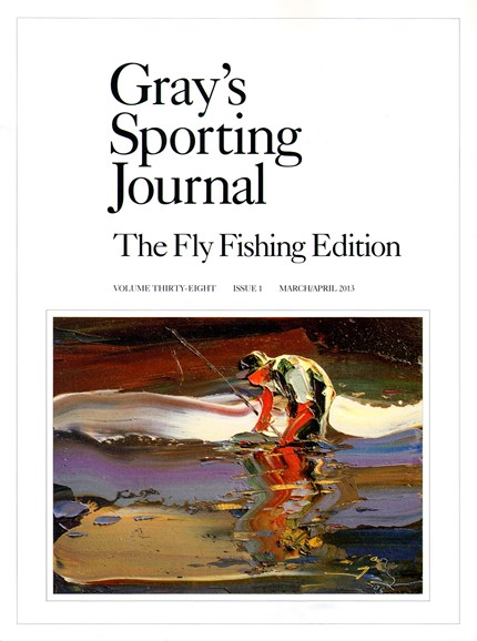 Gray's Sporting Journal Cover - 3/1/2013