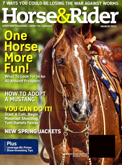 Horse & Rider Cover - 3/1/2013