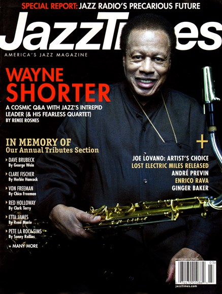 JazzTimes Cover - 3/1/2013
