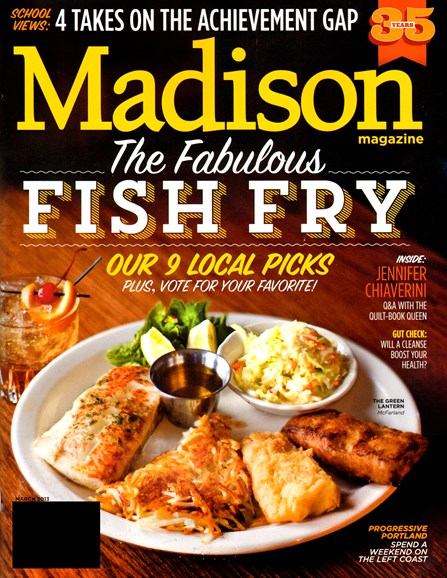 Madison Magazine Cover - 3/1/2013