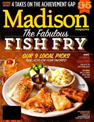 Madison Magazine | 3/1/2013 Cover