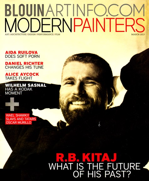 Blouin Modern Painters Cover - 3/1/2013