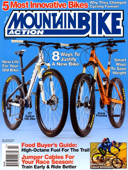 Mountain Bike Action Cover - 3/1/2013