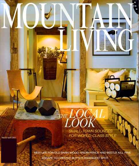 Mountain Living Cover - 3/1/2013