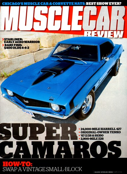 Muscle Car Review Cover - 3/1/2013