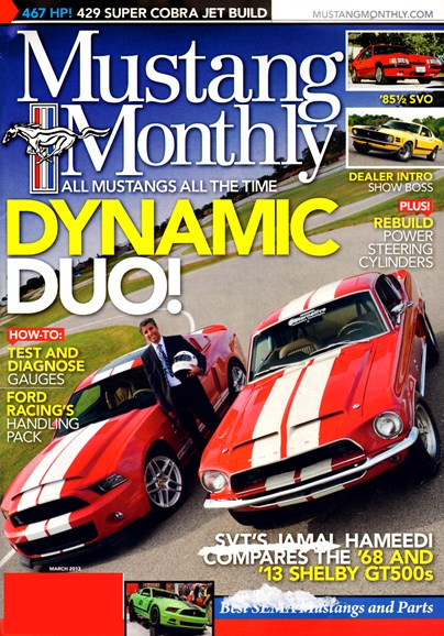 Mustang Monthly Cover - 3/1/2013