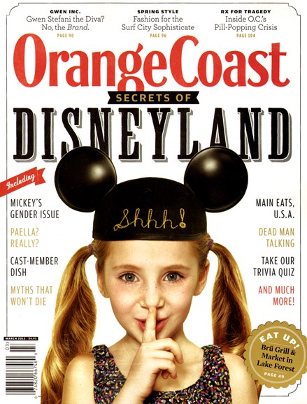 Orange Coast Cover - 3/1/2013