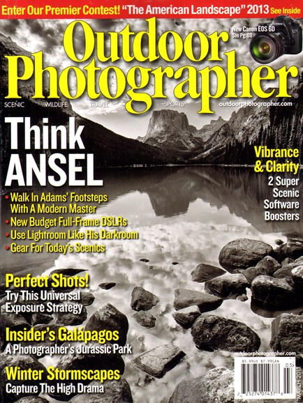 Outdoor Photographer Cover - 3/1/2013