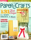 Paper Crafts | 3/1/2013 Cover