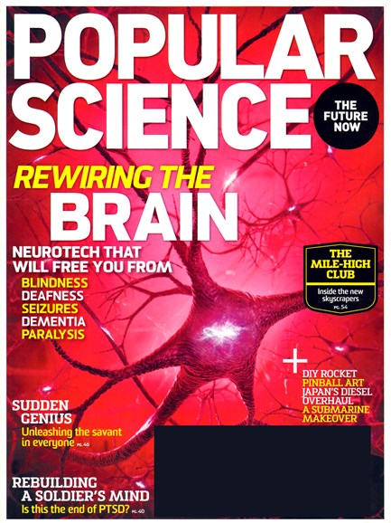 Popular Science Cover - 3/1/2013