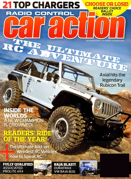 Radio Control Car Action Cover - 3/1/2013