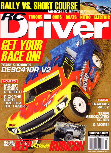 RC Driver Cover - 3/1/2013