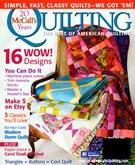 Mccall's Quilting Magazine 3/1/2013