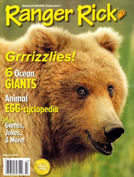 Ranger Rick Cover - 3/1/2013
