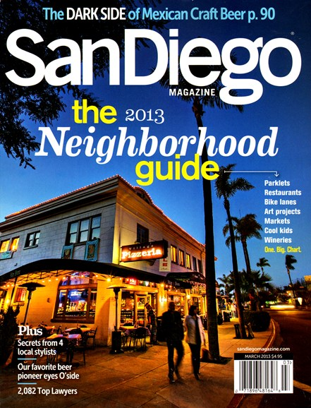 San Diego Cover - 3/1/2013