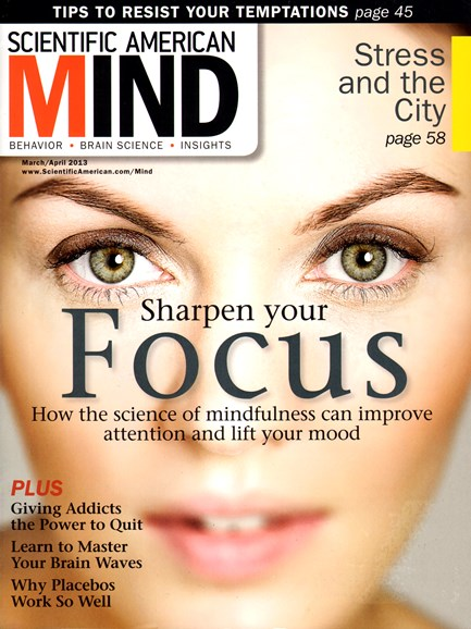 Scientific American Mind Cover - 3/1/2013